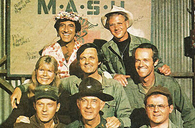 Mash Large Fridge Magnet - Tv Classic!  M*a*s*h