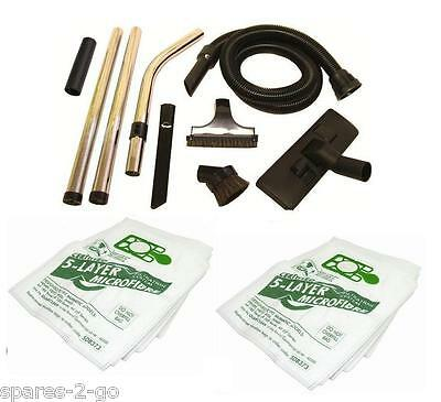 1.8 Metre Hose Tool Kit & 10 x Free Dust Bags for Numatic Henry Vacuum Cleaner