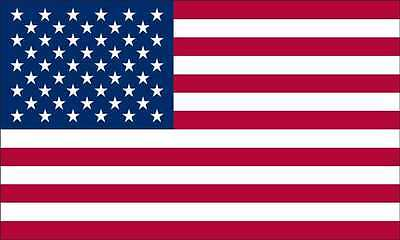 3x5 FT HEAVY DUTY POLY/COTTON US AMERICAN FLAG US MADE SHIPS SAME DAY!