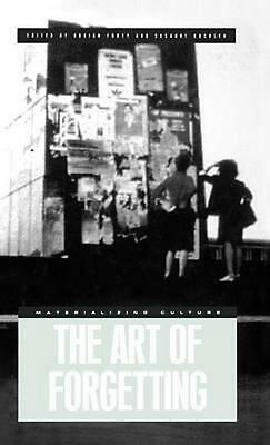 The Art of Forgetting by Adrian Forty Hardcover Book (English)