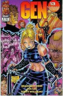 Gen 13 Vol. 2 # 7 (Jim Lee) (USA, 1995)