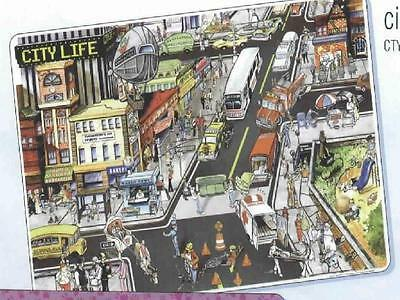 City Life Educational Activity Placemat