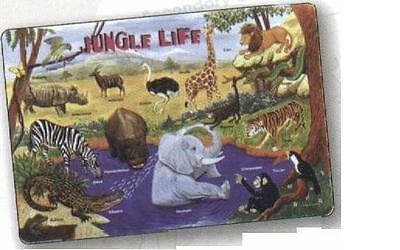 Jungle Animals Activity Placemat