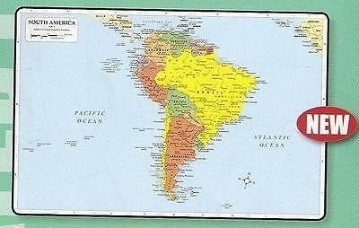 South America Map Placemat