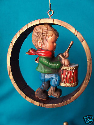 Hallmark Ornament RARE! 1976 Nostalgia Drummer Boy  Value $95.00