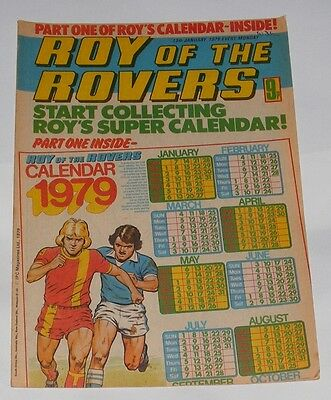 Roy Of The Rovers Comic 13Th January 1979