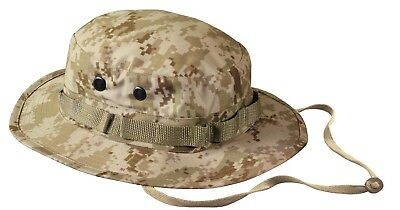 cd87400a055b8 Boonie Hat Desert Digital Camo Camouflage Sun Jungle Hat Rothco 5829