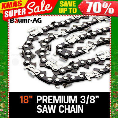 "18"" BAUMR-AG CHAINSAW CHAIN 18in Bar Replacement Suits 45cc Pruning Saws SX45"