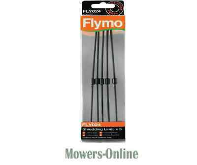 5 x Flymo Cutting Lines Gardenvac Plus Turbo 5138593-90/9 Trimmer Line FLY024