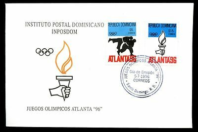 Dominican Republic 1996 Olympic Games FDC #C5490
