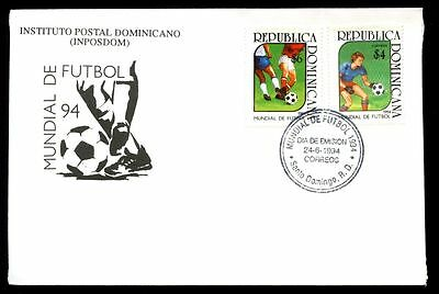 Dominican Republic 1994 World Cup Football FDC #C5518