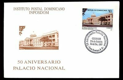 Dominican Republic 1997 National Palace FDC #C5544