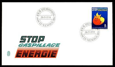 Luxembourg 1981 Energy Conservation FDC #C5628