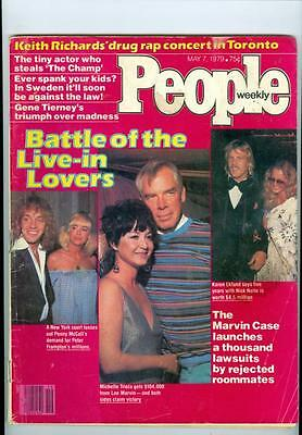 1979 People Magazine: Peter Frampton/Penny McCall/Michelle Triola/Lee Marvin