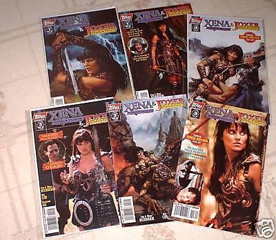 Xena & Joxer Issues #1 - 3 All Variants