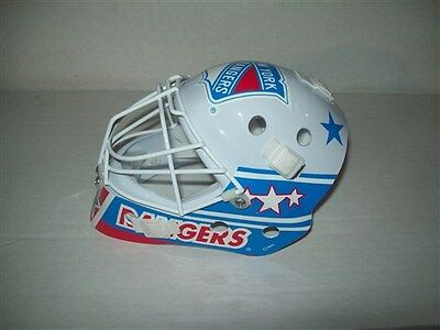 Pci Mini Goaltender Mask Goalie New York Rangers