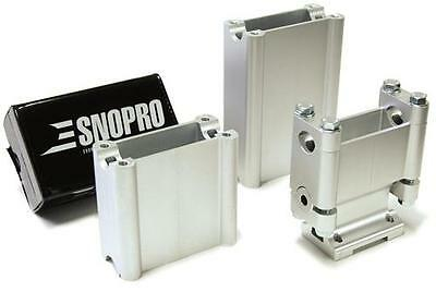 "New Snopro Skidoo Rev Handle Bar Riser Kit 2"" 4"" And 6"" In."