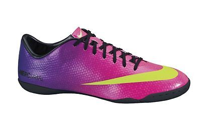 Nike Mercurial Victory IV IC Indoor Soccer SHOES 2013 Purple/Pink/ Black New