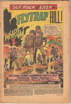 Our Army At War Comic Book #150, DC Comics 1965 COVERLESS