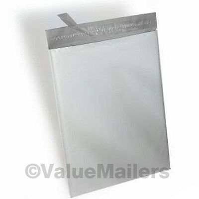 Poly Bags 100 each 9x12, 10x13, 12x15.5 VM Shipping Mailers Envelopes 2.5 Mil