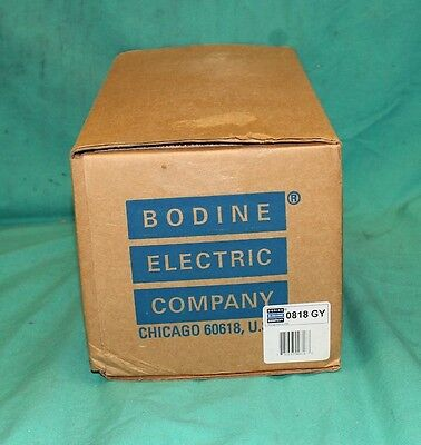 Bodine Electric Model 818 Adjustable Speed Torque Control DC Motor Drive SCR NEW