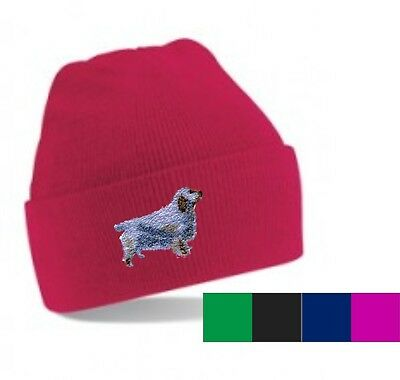 Clumber Spaniel Beanie Hat Perfect Gift Embroidered by Dogmania