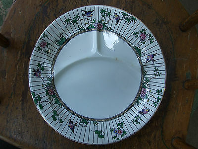 Booths Silicon China ENGLAND Summertime Pattern GRILL PLATE Divided Exc Conditio