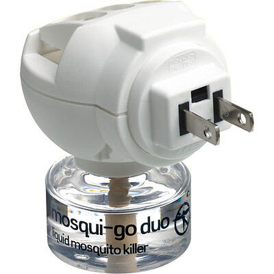 Go Travel Mosqui-Go Duo USA/America Plug-in Mosquito Repellent/Killer NEW