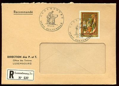 Luxembourg 1971 Medieval Minatures FDC #C6140