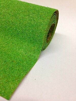 "Grass Mat:  Dark Meadow Green 120cmx60cm 48""x24"" Javis Landscape scenery roll 11"