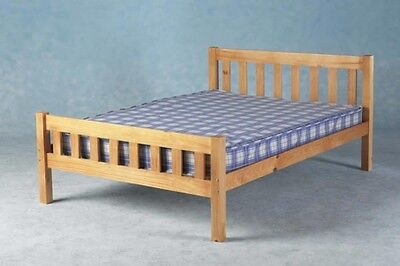Single Double King Solid Pine Bed Carlow with a choice of mattresses