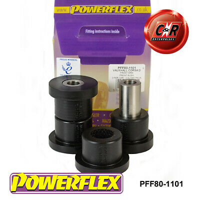 Vauxhall Corsa D Powerflex Front Arm Front Bushes PFF80-1101