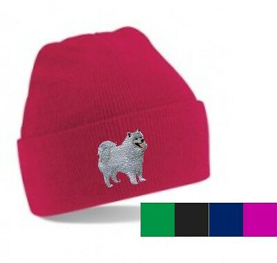 Samoyed Beanie Hat  Embroidered by Dogmania