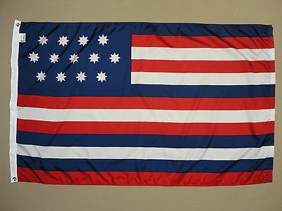 Serapis Indoor Outdoor Dyed Nylon Historical Flag Grommets 3' X 5'
