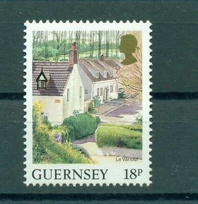 PAESAGGI - LANDSCAPES GUERNSEY 1989 Common Stamp
