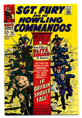 SGT. FURY #48 VF, Sergeant Nick and His Howling Commandos War Marvel Comics 1967