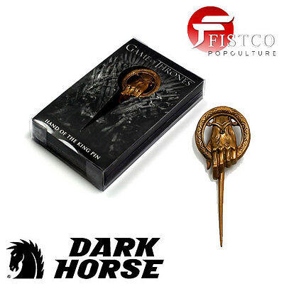 GAME OF THRONES - Anteck-Pin Die Hand des Königs - Hand of the King (Dark Horse)