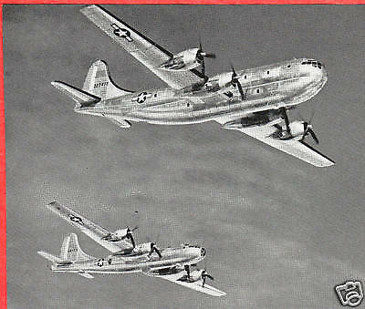 WWII 1945 Ad ~ BOEING B-29 Superfortress &Stratocruiser