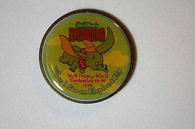 Dumbo When I See An Elephant Fly Wdw Sept 19-20, 1999 Disney Pin