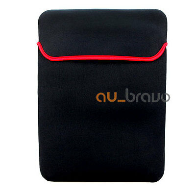 """Reversible Soft Sleeve Carry Bag Case Cover For Laptop Notebook 12"""" 13.3"""" 14.1"""""""