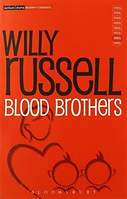 Blood Brothers (Methuen Modern Play) (Modern by Willy Russell New Paperback Book