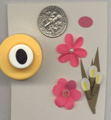 Mini Oval 8mm Paper Punch by Punch Bunch Use With Quilling-Scrapbook-Cardmaking