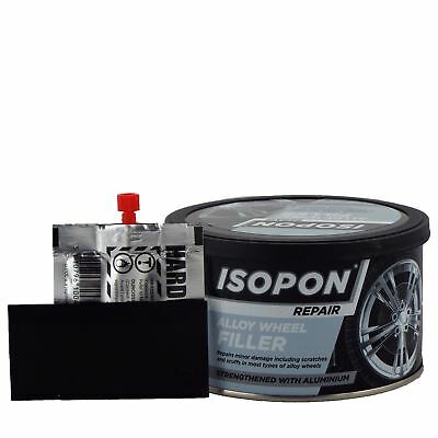 U-pol Davids Isopon Metalik Aluminium Filler 250ml UPOL Metal Car Body Filler
