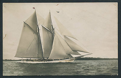 CPA Yacht Voilier c. 1905 - Type America's Cup - YACHT JOUNA - 3