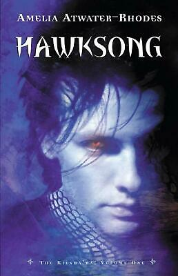 Hawksong by Amelia Atwater-Rhodes (English) Paperback Book Free Shipping!