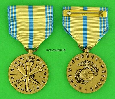 Armed Forces Reserve Medal Marine Corps USMC - made in the USA -full size USM100
