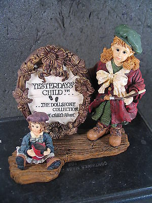 Boyds Bears Yesterday's Child ANNA AND THE MASTERPIECE MIB ED 1E