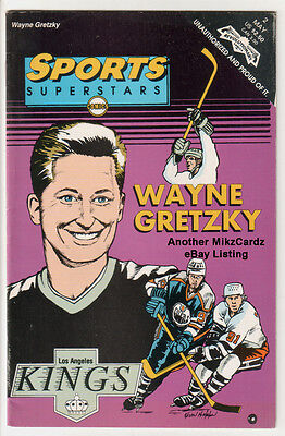 "SPORTS SUPERSTARS #2 (May 1992) ""Wayne Gretzky"" VG+ CONDITION Comic Book"