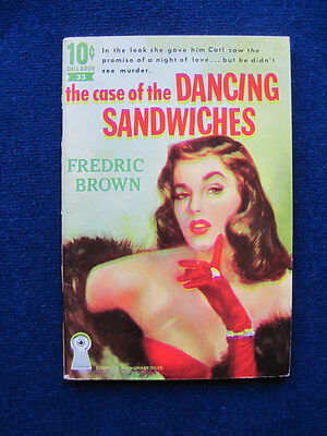 The Case of the Dancing Sandwiches by FREDERIC BROWN - VINTAGE MYSTERY
