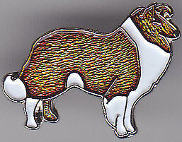 COLLIE dog breed LAPEL PIN